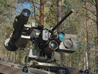 «Безумный» ракетный беспилотник против русских танков