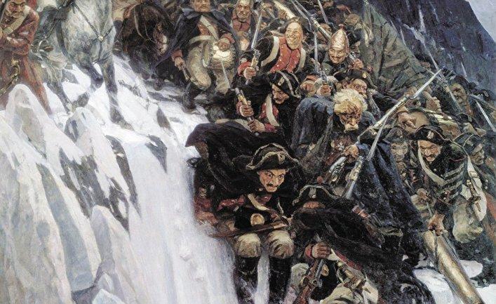 SwissInfo (Швейцария): историки-реконструкторы повторили Швейцарский поход Суворова