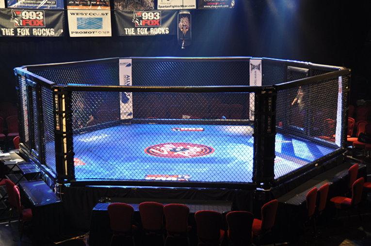 Клетка для проведения боев MMA