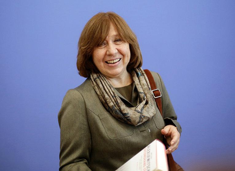 Белорусская писательница Светлана Алексиевич