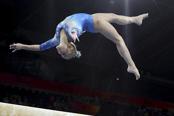 Российская гимнастка Ангелина Мельникова