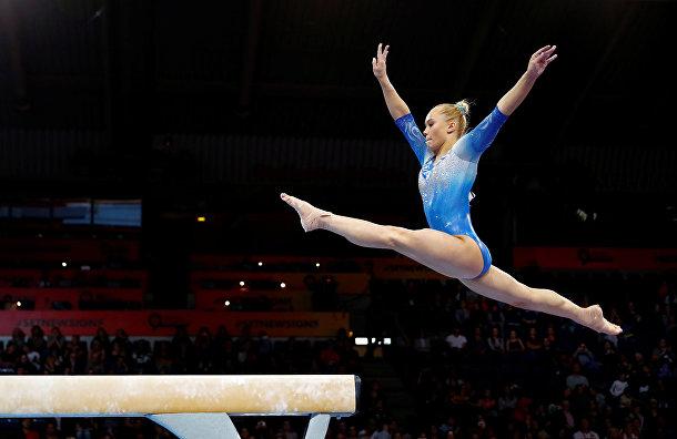 Выступление российской гимнастки Ангелины Мельниковой
