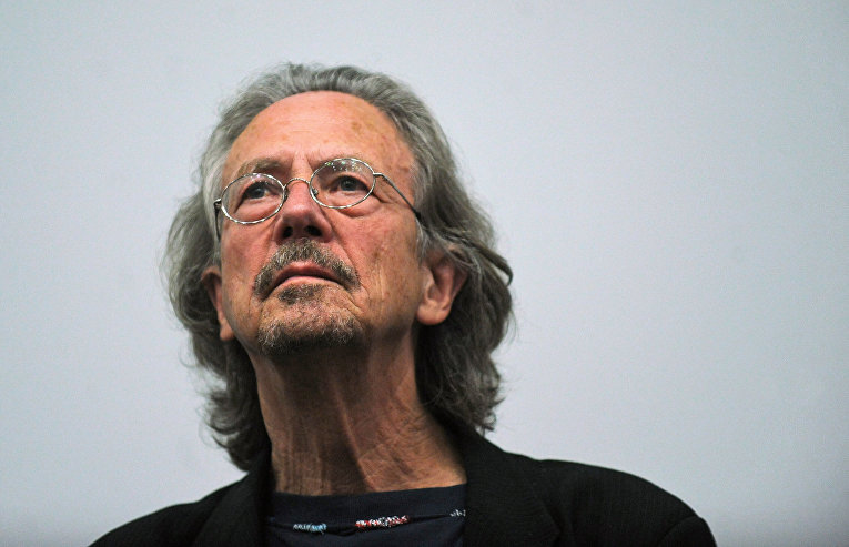 Австрийский писатель Петер Хандке