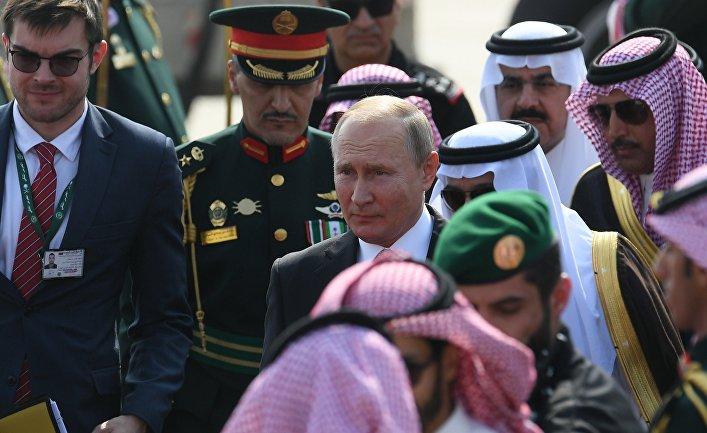 Государственный визит президента РФ В. Путина в Саудовскую Аравию