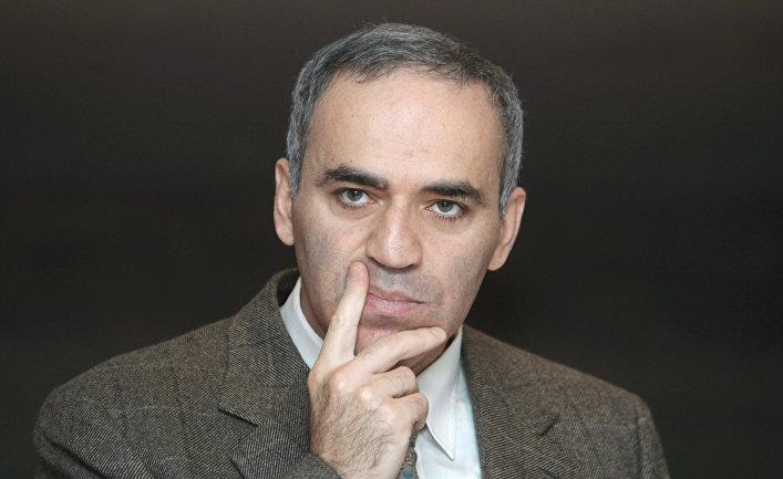 Один из лидеров объединенного демократического движения «Солидарность» Гарри Каспаров