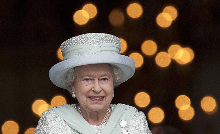 Королева Великобритании Елизавета II в Лондоне
