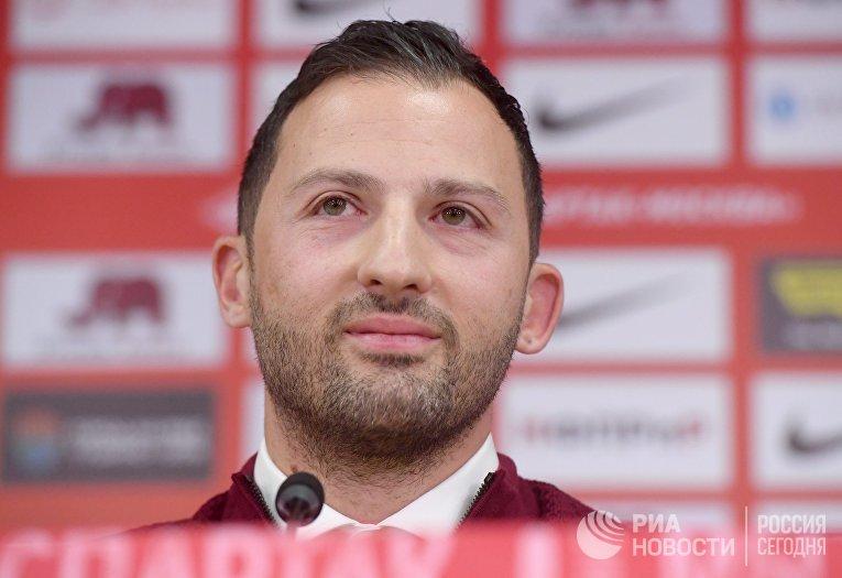 """Представление нового главного тренера ФК """"Спартак"""""""