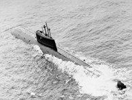 Советская атомная подводная лодка (АПЛ) К-278 «Комсомолец»