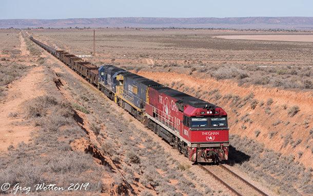Поезд в Австралии