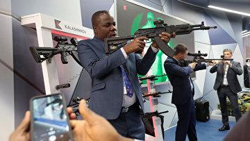 """Участник экономического форума """"Россия - Африка"""" в Сочи"""