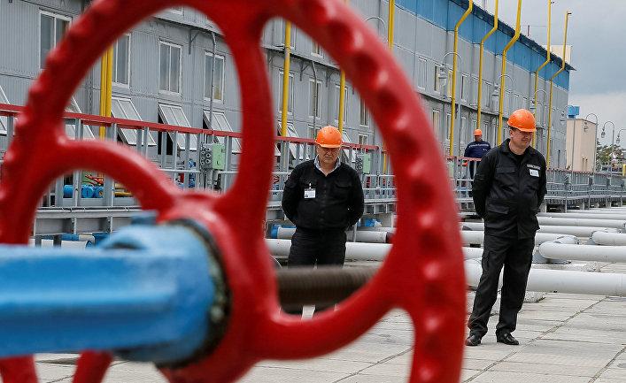 Газохранилище под Полтавой, Украина