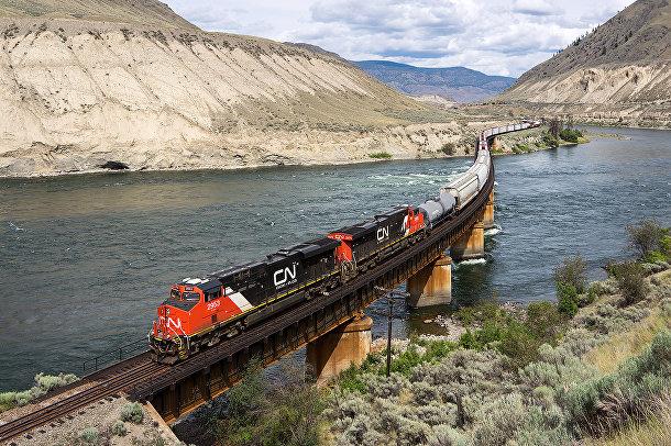 Железная дорога в Канаде