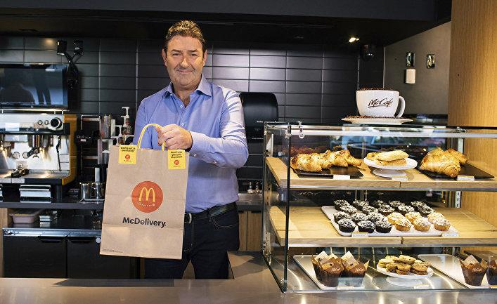 Генеральный директор McDonald's Стив Истербрук