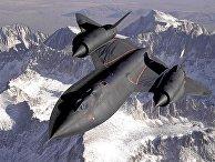 Стратегический сверхзвуковой разведчик ВВС США Lockheed SR-71