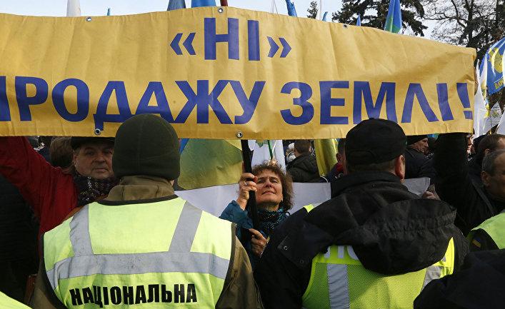 """Картинки по запросу """"протесты в киеве против продажи земли"""""""""""