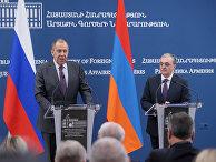 Визит главы МИД РФ С. Лаврова в Ереван