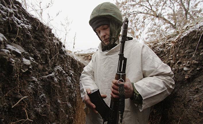 Жизнь на передовой в ДНР
