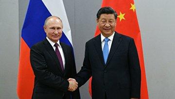 Рабочий визит президента РФ В. Путина в Бразилию для участия саммите БРИКС