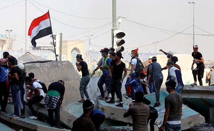 Антиправительственные протесты в Багдаде, Ирак