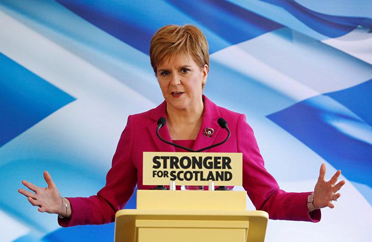 Первый министр Шотландии Никола Стерджен
