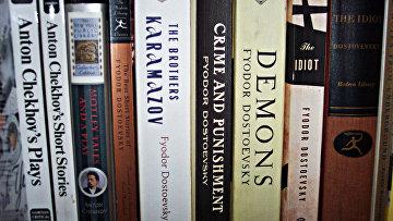 Русская литература на английском