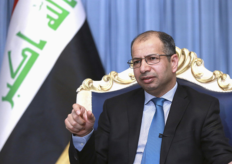 Бывший спикер парламента Ирака Салим Аль-Джабури