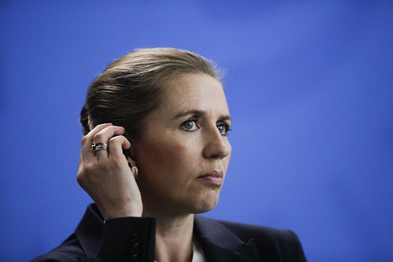 Премьер-министр Дании Метте Фредериксен