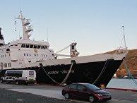 Круизное судно Lyubov Orlova