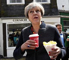 Британский политик Тереза Мэй