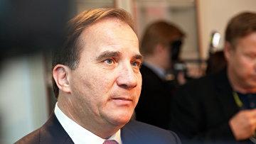 Стефан Лёвен, премьер-министр Швеции