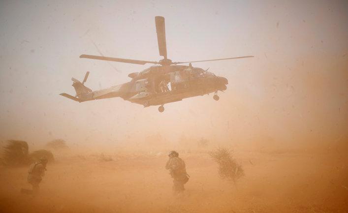 Военный вертолет NHI NH90