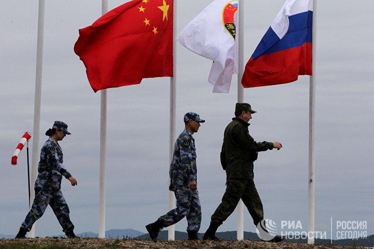 Российско-китайские военно-морские учения