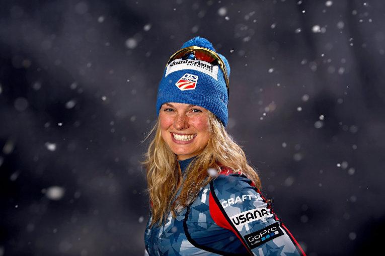 Американская лыжница Джессика Диггинс