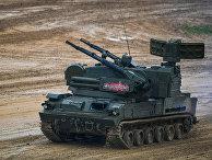 """Зенитный пушечно-ракетный комплекс  (ЗПРК) 2С6М1 """"Тунгуска-М1"""""""