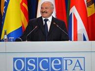 Сессия парламентской ассамблеи ОБСЕ в Минске
