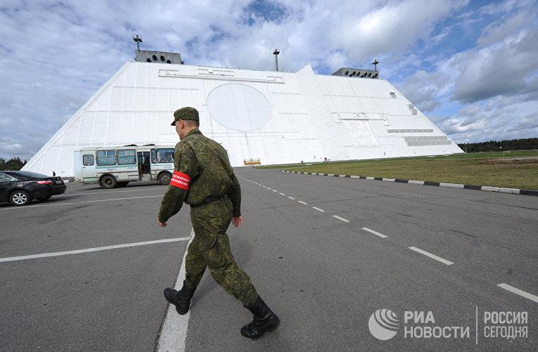 Радиолокационная станция системы ПРО «Дон-2Н»