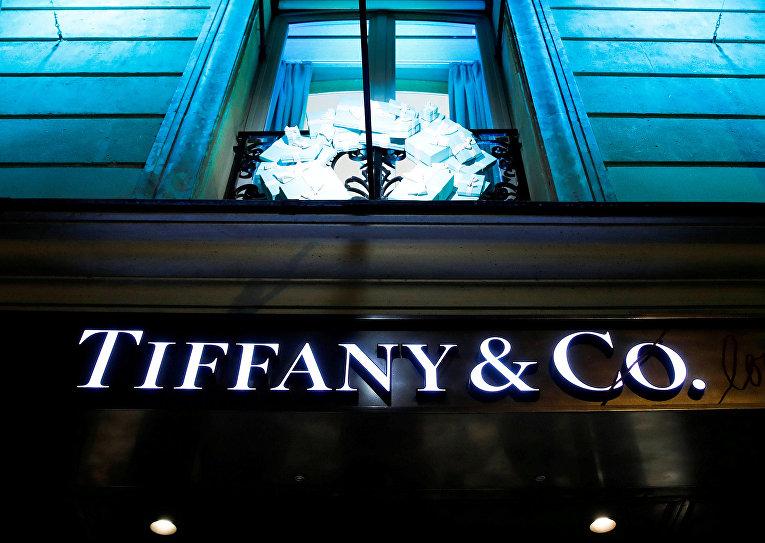 Магазин Tiffany & Co. в Париже
