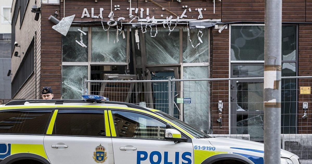Уровень преступности в швеции