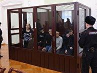 Заседание суда по делу о теракте в петербургском метро