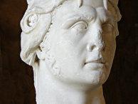 Мраморная голова Митридата VI