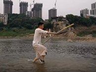 Прыжок мастера кунг-фу взорвал интернет — но не физику