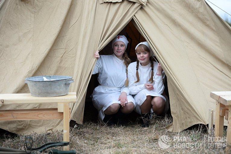 Военно-историческая реконструкция в Екатеринбурге