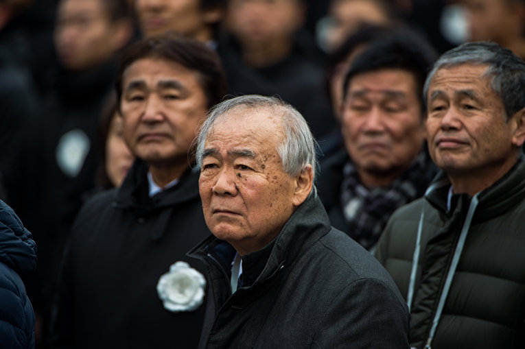 Пожилые люди в Наньцзине, Китай