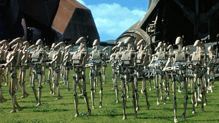 Гунганы против дроидов