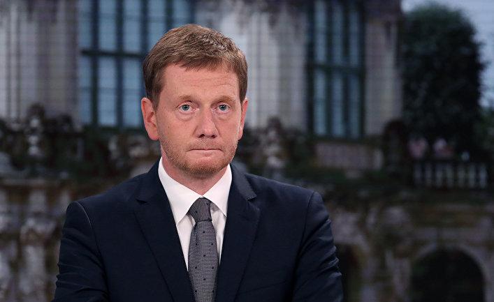 Премьер-министр Саксонии Михаэль Кречмер