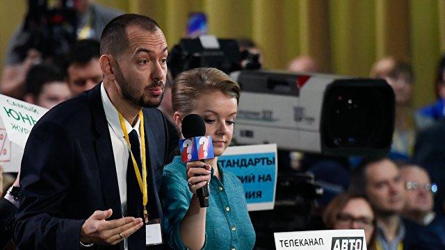 Роман Цимбалюк: скука. Пресс-конференция Путина была без эмоций и без единого яркого вопроса (Гордон, Украина)