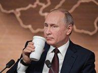 Ежегодная большая пресс-конференция президента РФ В. Путина
