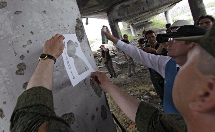 Акции в День защиты детей в Донецке