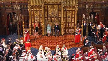 Речь королевы Великобритании Елизаветы II на открытии парламента