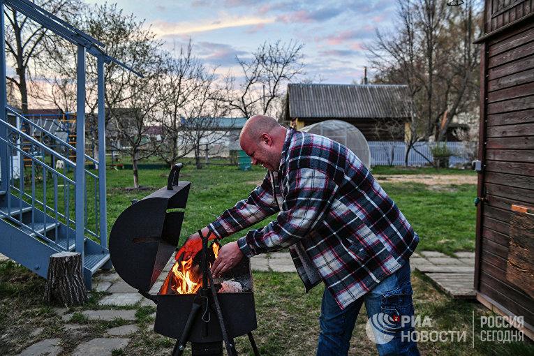 Дачный отдых москвичей